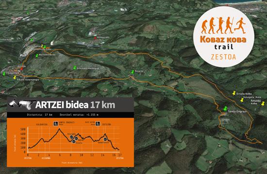 ibilbidea 17km